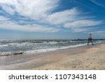 Empty Lifeguard Post At Seaside ...