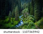 beautiful view of river in the... | Shutterstock . vector #1107365942
