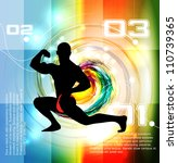 eps10 gym vector illustration | Shutterstock .eps vector #110739365