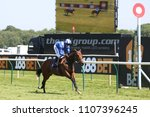 Small photo of Racehorse Mashaheer ridden by Jim Crowley winning the 1m Classified Stakes at Nottingham Races : Nottingham Racecourse, Nottingham, UK : 22 May 2018 : Pic Mick Atkins