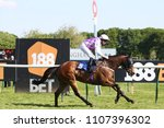 Small photo of Racehorse Northwest Frontier (IRE) ridden by Tony Hamilton in the colours of Sir Robert Ogden winning at Nottingham Races : Nottingham Racecourse, Nottingham, UK : 22 May 2018 : Pic Mick Atkins