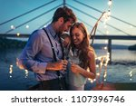 shot of young affectionate... | Shutterstock . vector #1107396746