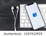 Small photo of Sankt-Petersburg, Russia, June 2, 2018: Google My Business application icon on Apple iPhone X screen close-up. Google My Business icon. Google My business application. Social media network