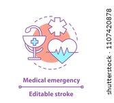medicine concept icon. medical... | Shutterstock .eps vector #1107420878
