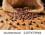 coffee beans latte espresso    ...   Shutterstock . vector #1107473966