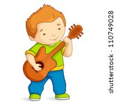 vector illustration of kid...   Shutterstock .eps vector #110749028