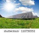 solar energy panels | Shutterstock . vector #110750552