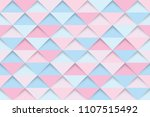abstract pink and blue... | Shutterstock .eps vector #1107515492