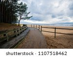 a view of the baltic seacoast... | Shutterstock . vector #1107518462