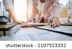 business partner analysis... | Shutterstock . vector #1107523352