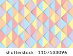abstract colorful triangles... | Shutterstock .eps vector #1107533096