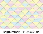 pastel triangles seamless... | Shutterstock .eps vector #1107539285