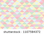 abstract retro pattern of... | Shutterstock .eps vector #1107584372
