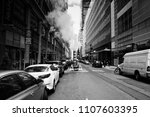 new york  usa  april 08  2018 ... | Shutterstock . vector #1107603395