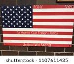 new york city   june 4  2018  9 ... | Shutterstock . vector #1107611435