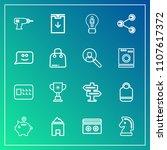 modern  simple vector icon set...   Shutterstock .eps vector #1107617372
