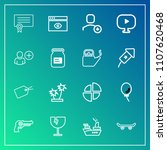 modern  simple vector icon set... | Shutterstock .eps vector #1107620468
