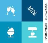 modern  simple vector icon set... | Shutterstock .eps vector #1107625856