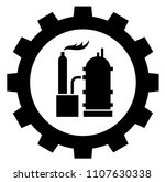 petrochemical industry icon... | Shutterstock .eps vector #1107630338