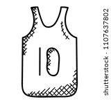 a comfortable nylon stuff vest ...   Shutterstock .eps vector #1107637802