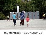 refugees and migrants in a... | Shutterstock . vector #1107650426