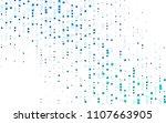 light blue vector abstract... | Shutterstock .eps vector #1107663905