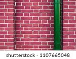 Modern Pink Brick Wall With...