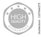 high quality badge vector  high ... | Shutterstock .eps vector #1107666275