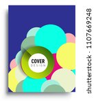 abstract colorful background... | Shutterstock .eps vector #1107669248
