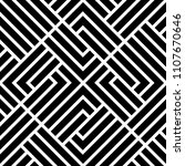 abstract geometric pattern with ... | Shutterstock . vector #1107670646