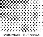 halftone dots texture... | Shutterstock .eps vector #1107701066