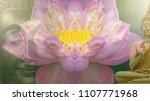 buddha statue. background... | Shutterstock . vector #1107771968