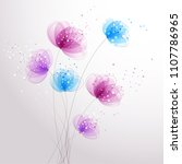 vector background with pastel... | Shutterstock .eps vector #1107786965