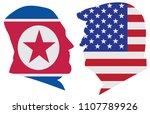 may 14  2018  us president... | Shutterstock . vector #1107789926