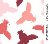 seamless vector pattern with... | Shutterstock .eps vector #1107813608