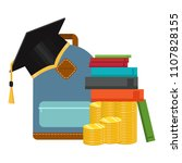 investment in education concept....   Shutterstock .eps vector #1107828155
