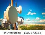 telecommunication equipment...   Shutterstock . vector #1107872186