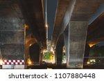 under bridge in the city.   Shutterstock . vector #1107880448