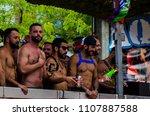 torremolinos  spain   june 2 ... | Shutterstock . vector #1107887588