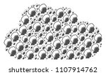 cloud composition constructed... | Shutterstock .eps vector #1107914762