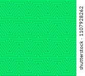 triangle seamless pattern. | Shutterstock .eps vector #1107928262