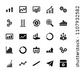 progress icon. collection of 25 ... | Shutterstock .eps vector #1107932582