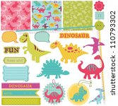 scrapbook design elements  ... | Shutterstock .eps vector #110793302