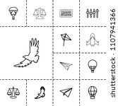 freedom icon. collection of 13...   Shutterstock .eps vector #1107941366