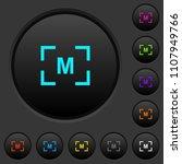 camera manual settings mode... | Shutterstock .eps vector #1107949766