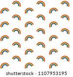 vector seamless pride gay...   Shutterstock .eps vector #1107953195