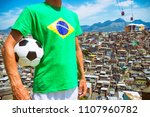 football player standing in... | Shutterstock . vector #1107960782