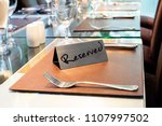 Reserved Metal Plate On The...