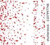 confetti of two colored rhombs...   Shutterstock .eps vector #1107997748