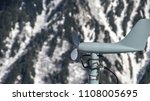 Wind Speed Monitor At Snowy...